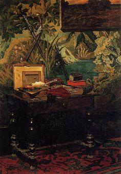 Corner of a Studio, 1861, Claude Monet