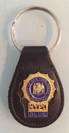 New york city #police department detective   #minni badge #obsolete keychain  nyc,  View more on the LINK: 	http://www.zeppy.io/product/gb/2/222314200847/