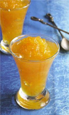 Апельсиновый мармелад (рецепт для микроволновки)
