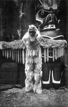 Kwakwaka'wakw Nation ''Wasp Dancer'' from 1915 film ''In the Land of the Head-Hunters'' (original title) by Edward S. Curtis