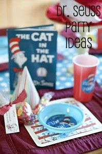 A list of Dr. #Seuss #party #ideas and tips. #CatintheHat