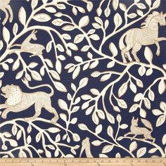 Dwell Studio Pantheon Slub Admiral from @fabricdotcom  Screen printed on cotton slub duck (slub cloth has a linen appearance), this versatile medium weight fabric is perfect for window accents (draperies, valances, curtains and swags), accent pillows, bed skirts, duvet covers, slipcovers , upholstery and other home decor accents. Create handbags, tote bags, aprons and more. Colors include ivory, latte and navy blue. This fabric has 100,000 double rubs.
