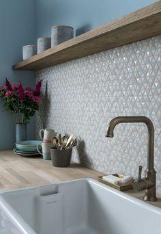 New Kitchen Wall Tiles Splashback 24 Ideas Earthy Kitchen, Cute Kitchen, Awesome Kitchen, Funny Kitchen, Kitchen Wall Tiles, Kitchen Backsplash, Backsplash Ideas, Backsplash Design, Mosaic Backsplash