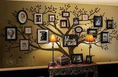 Wall decal , Family Tree Wall decal -Living Room Wall Decals – Photo frame tree Wall Stickers – wall graphic Anybody can generate a residenc. Wall Stickers Family, Family Tree Wall Sticker, Family Wall, Wall Stickers With Photos, Family Room, Office Wall Decals, Tree Decals, Memory Tree, Frames On Wall