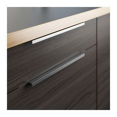"They come in lots of sizes.  Very reasonable prices!  Let's do these.  BLANKETT Handle - 15 "" - IKEA"