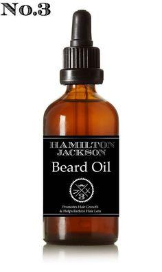 Natural Organic Hemp & Argan Beard Oil No.3 by LailaLondon on Etsy