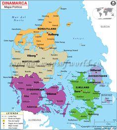 Dinamarca, país situado en el norte de Europa, se encuentra en el suroeste de Suecia y el sur de Noruega. El país limita con Alemania y está formado por una gran península y varias islas. El Reino de Dinamarca forma parte de Escandinavia en el norte de Europa. Dinamarca ha sido habitada por el hombre desde hace unos 12.000 años. Algunos de los primeros habitantes de Dinamarca fueron los jutos, que habitaron la península de Jutlandia, y los daneses, posiblemente descendientes de la gente de…