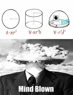 Actually the volume of a hemisphere is 2/3 * pi * r