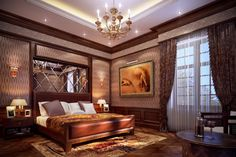 Bedroom Unique Furniture And A Classic Chandelier In The Roof Classic Bedroom Design Interesting Basic Bedroom Design That Appears to be like Luxurious and Magnificent