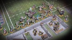 James Wappel Miniature Painting: Blood Bowl
