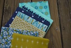cotton and steel fabric, cloud9 fabric, sewing palette
