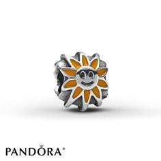Pandora Yellow Enamel Sunshine Charm