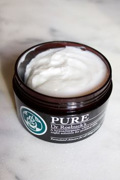Dr Roebuck's Pure, available at BeautyBoutique.ca. http://beautyeditor.ca/2016/01/07/dry-winter-skin-face