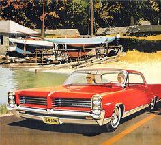 1964 Pontiac Bonneville Sports Coupe: Art Fitzpatrick and Van Kaufman