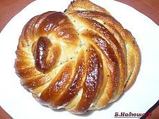 Twisted buns (methods for forming buns - step by step). Discussion on LiveInternet - Russian Online Diary Service Ukrainian Recipes, Russian Recipes, Pie Crust Designs, Bread Art, Good Enough To Eat, Sweet Bread, Breakfast Recipes, Food And Drink, Cooking Recipes