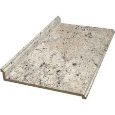$49 at Lowes - BELANGER Fine Laminate Countertops�4-ft Ouro Romano with Etchings Straight Laminate Countertop