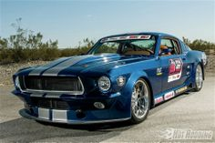 Ed Moss' 1967 Ford Mustang at the 2013 #OUSCI