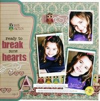 A Project by gretahammond from our Scrapbooking Gallery originally submitted 06/12/09 at 07:12 AM