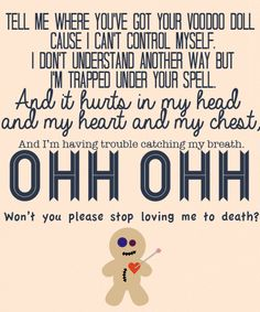 Voodoo Doll-5 Seconds of Summer- I love this song!