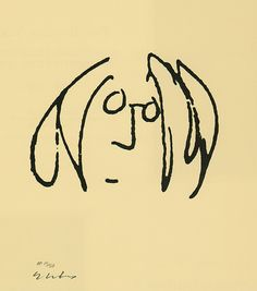 + John Lennon, ''self portrait original'', 1969