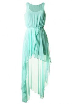 Aqua Dress idea for morgans wedding