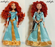 Merida Ooak-Art doll