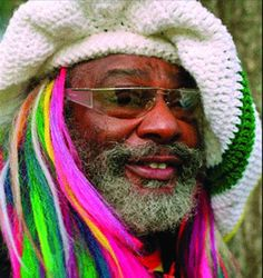 George Clinton from Parliament Funkadelic