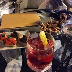 Sbagliato by Martini cocktail at Tiepolo Bar Chocolate Fondue, Martini, Cocktails, Bar, Desserts, Food, Craft Cocktails, Tailgate Desserts, Deserts