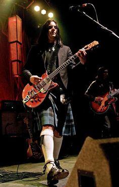 Jack White sporting a kilt..he wears it well;-)