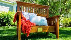 Turning a Bed Into a Bench