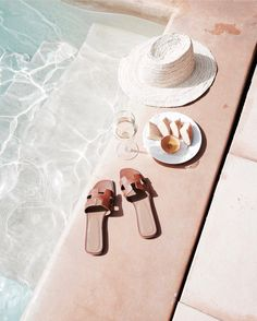 Summertime vibes by the pool Summer Vibes, Summer Feeling, Good Vibe, Summer Aesthetic, Beige Aesthetic, Summer Accessories, Summer Of Love, Men Summer, Style Summer