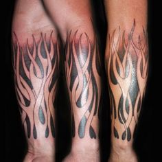 Flames from arm tattoo design. Find and save ideas about Flames from arm tattoo design on Tattoos Book. More than FREE TATTOOS Tribal Tattoo Designs, Best Tattoo Designs, Tattoo Sleeve Designs, Tribal Tattoos, Cool Tattoos, Tattoos Arm Mann, Arm Tattoos For Guys, Forearm Tattoos, Manga Tribal