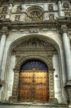 Cathedral Door, Antigua, Guatemala ~ by DaveWilsonPhotography, via Flickr