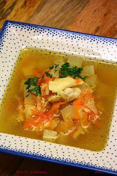 R'n'G Kitchen: Zupa rybna z dorsza
