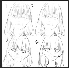 Realistic anime face ref Manga Drawing Tutorials, Drawing Techniques, Art Tutorials, Drawing Sketches, Art Drawings, Poses References, Drawing Reference Poses, Anatomy Art, Drawing Base