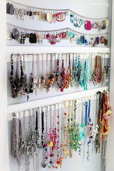 Simple jewelry organ