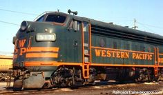Western Pacific Passenger Trains | Western Pacific Railroad