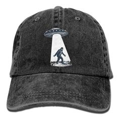 Buy UFO Bigfoot Vintage Adjustable Jean Cap Gym Caps ForAdult - Navy - and  Many Other Latest Designer Hats   Scarves 84b94f4c036