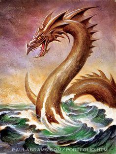Sea Serpent by ~PaulAbrams on deviantART