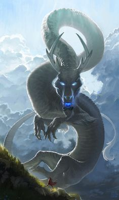 "emmathepaintdragon: "" time-left-to-kill: "" They say she went to fight the river in the sky. "" @elektronx """