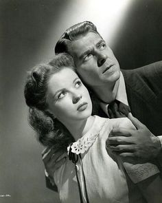 Shirley Temple and Ronald Reagan - That Hagen Girl