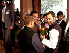 Sachaa News   New Delhi [India], Dec. 2 :  Congress vice president Rahul Gandhi is chairing a Parliamentary Party Meeting of his party...