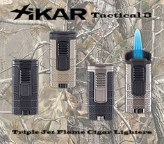 XIKAR Tactical Triple Jet Flame Cigar Lighters Are Available at Milan Tobacconists. Since Providing Superior Customer Service and Quality Tobacco Products. Secure Site, Tobacco Shop, Jefferson Street, Cigar Shops, Premium Cigars, Cigar Lighters, Cigar Accessories, Specials Today, Bigfoot