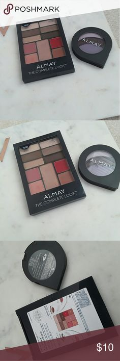 set of 2 almay eyeshadow palettes the larger one has only ever been swatched. The purple one has been used a few times. both are in excellent condition! almay Makeup Eyeshadow