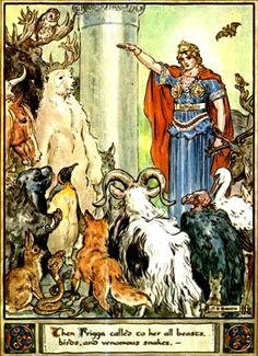 C. E. Brock - The Heroes of Asgard