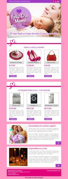 Diseño y Maquetación/Programación Plantilla Newsletter Para: MadridNYC Cliente: MailRelay