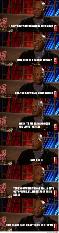 HAHA! Pardon the language, but this is hilarious...'cause it's true. GO JEDI! :-D