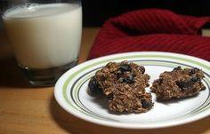 Low fat 'breakfast cookies'