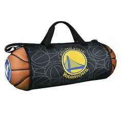 Golden State Warriors Basketball to Duffel Bag, Multicolor