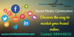 "seo company andhra pradesh, software company andhra pradesh. ""Discover the way to market your brand online."" www.sunraisesolutions.com Contact: 9494348232  #social #media #optimization #markeing #digital #brand #seo"